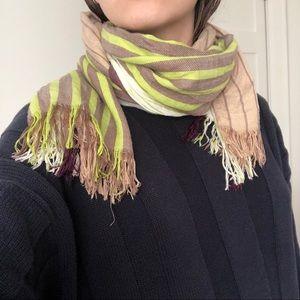 FCUK striped scarf